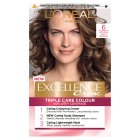 L'Oréal excellence natural light brown - each