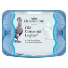 Clarence Court Old Cotswold Legbar mixed weight British free range eggs - 6s