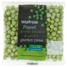 Waitrose ready shelled garden peas - 160g