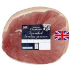 Waitrose Unsmoked boneless English gammon - per kg