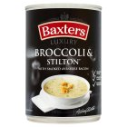 Baxters luxury broccoli, stilton & bacon soup - 400g