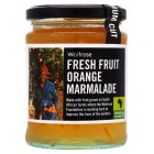 Waitrose fresh fruit orange marmalade - 340g