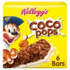 Kellogg's Coco Pops cereal & milk bars - 6x20g