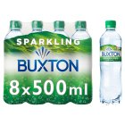 Buxton sparkling natural mineral water - 8x50cl