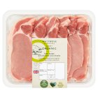 Duchy Originals from Waitrose organic pork thin cut loin steaks -