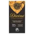 Divine Fairtrade 70% dark chocolate - 100g Brand Price Match - Checked Tesco.com 09/12/2013