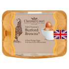 Clarence Court Burford Browns free range eggs - 6s