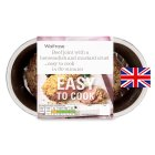 Waitrose Easy To Cook British beef joint with a horseradish crust - 550g