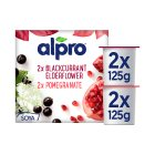 Alpro Soya Forest Fruits alternative to yogurt - 4x125g Brand Price Match - Checked Tesco.com 05/03/2014