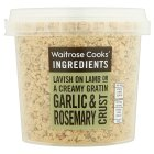 Waitrose Cooks' Ingredients garlic & rosemary crust - 130g