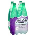 Highland Spring, spring sparkling water, 4 pack - 4x1.5litre Brand Price Match - Checked Tesco.com 08/02/2016