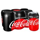 Coca-Cola Zero multipack cans - 6x330ml