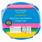 Waitrose Melton Mowbray small pork pie - 135g