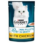 Gourmet perle mini fillets with chicken - 85g Brand Price Match - Checked Tesco.com 22/10/2014