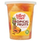 Nature's Finest Tropical Fruit Salad (in juice) - 400g Brand Price Match - Checked Tesco.com 05/03/2014