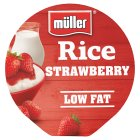 Muller Rice - Strawberry - 180g Brand Price Match - Checked Tesco.com 10/02/2016