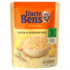 Uncle Ben's special lemon & rosemary rice - 250g Brand Price Match - Checked Tesco.com 05/03/2014