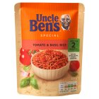 Uncle Ben's special tomato & basil rice - 250g Brand Price Match - Checked Tesco.com 21/04/2014