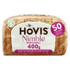 Hovis Nimble wholemeal sliced bread - 400g