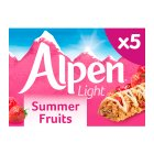 Alpen bars light 5 summer fruits - 95g Brand Price Match - Checked Tesco.com 30/07/2014
