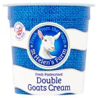 St Helen's farm goats cream double - 125g