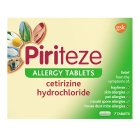 Piriteze allergy tablets - 7s Brand Price Match - Checked Tesco.com 16/04/2014