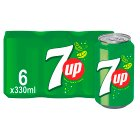 7 Up - 6x330ml Brand Price Match - Checked Tesco.com 05/03/2014