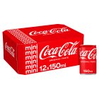 Coca-Cola mixer multipack cans - 12x150ml
