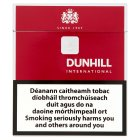 Dunhill international cigarettes - 20s