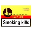 Villiger Export cigars pressed