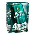 John Smith's bitter extra smooth - 4x440ml
