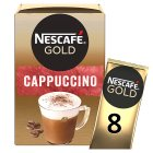 Nescafé Café Menu cappuccino coffee - 10x17g Brand Price Match - Checked Tesco.com 19/11/2014