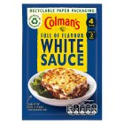 Colman's white sauce mix - 25g Brand Price Match - Checked Tesco.com 01/07/2015