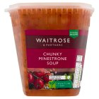 Waitrose minestrone soup - 600g