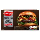 Birds Eye 4 100% beef quarter pounders - 454g Brand Price Match - Checked Tesco.com 05/03/2014
