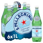 S.Pellegrino sparkling natural mineral water - 6x1litre Brand Price Match - Checked Tesco.com 16/07/2014