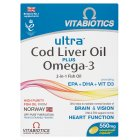 AquaMarine, omega 3 & cod liver oil capsules - 60s Brand Price Match - Checked Tesco.com 05/03/2014