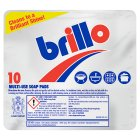 Brillo soap pads - 10s