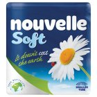 Nouvelle soft 100% recycled toilet tissue