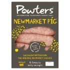 Powters celebrated Newmarket sausages - 400g Brand Price Match - Checked Tesco.com 02/09/2015