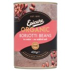 Epicure canned borlotti beans - drained 230g