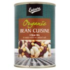 Biona organic mixed beans in water - drained 240g