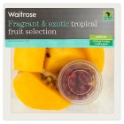 Waitrose tropical fruit selection - 200g