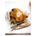 Organic free range bronze feathered turkey