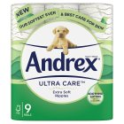 Andrex Skin Kind Aloe Vera Toilet Rolls - 9s Brand Price Match - Checked Tesco.com 14/04/2014