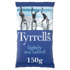 Tyrrells lightly sea salted potato chips - 150g Brand Price Match - Checked Tesco.com 02/03/2015