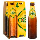 Cobra premium beer extra smooth - 4x330ml Brand Price Match - Checked Tesco.com 11/12/2013