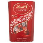 Lindt Lindor milk chocolate truffles - 337g Brand Price Match - Checked Tesco.com 29/04/2015