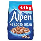 Alpen no added sugar muesli - 1.1kg Brand Price Match - Checked Tesco.com 20/07/2016
