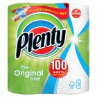 Plenty white kitchen towels - 2x50s Brand Price Match - Checked Tesco.com 17/09/2014